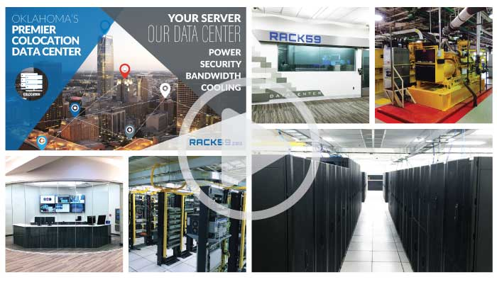 RACK59 Data Center Collage